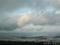 寒風山山頂より八郎潟を望む