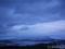 日没後寒風山より天王町方面を望む