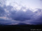 寒風山夕暮れ時の不思議な雲群