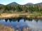 睡蓮沼(左:硫黄岳、右:大岳)
