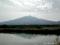 鶴田町より岩木山を望む