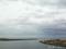 五所川原市 十三湖大橋より日本海望む