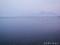 朝もやの猪苗代湖と磐梯山