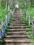 日本一のズリ山階段 137段目