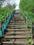 日本一のズリ山階段 300段目