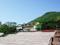 旧函館区公会堂と函館山