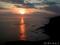 襟裳岬の夕焼け