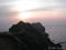 夕暮れの神威岬(カムイ岬)