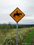 開陽台帰路 道路標識